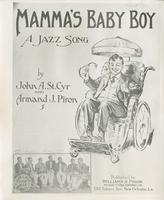 Sheet Music Cover: Mamma's Baby Boy