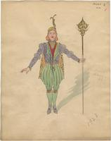 Mistick Krewe of Comus 1928 costume 14