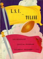 Louisiana State University Football Program - The Bengalier; Tulane vs. L. S.U.