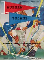 Tulane University Football Program; Tulane vs. Auburn