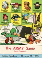 Tulane University Football Program-The Greenie; Army vs. Tulane