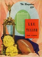 Louisiana State University Football Program - The Bengalier; Tulane vs. L.S.U.