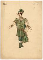 Mistick Krewe of Comus 1905 costume 118