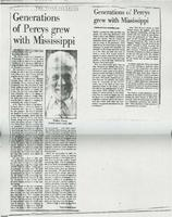 Article:  Generations of Percys grew with Mississippi