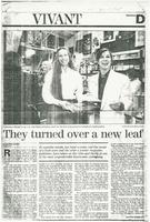 Article:  They turned over a new leaf