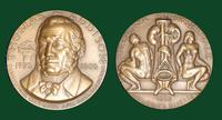 Thomas Addison medal designed by Abram Belskie - Medallic Art Company [MAco 69-14-24]