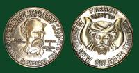Farhad Grotto Mardi Gras doubloon featuring Dr. Samuel P. Chopin, M.D. and the Louisiana State Board of Health, 1967