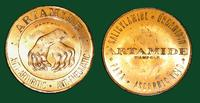 Artamide - Anti-Arthritic & Anti-Rheumatic (Advertising token from Wampole)