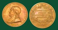 Benjamin Franklin bronze portrait medallion by Dupré, 1784
