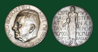 Tribute to Professor Enzo Bizzozero and medal commemorating the Turin Expositions, 6 June 1954
