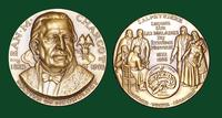 Jean M. Charcot bronze medal designed by Abram Belskie - Medallic Art Company [MAco 69-14-34]