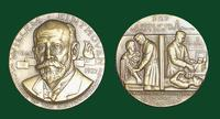 Willem Einthoven bronze medal designed by Abram Belskie - Medallic Art Company [MAco 69-14-46]