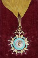 Roger Post Ames - Order of Carlos Finlay 1928 - medal awarded December 3, 1952 in Havana, Cuba