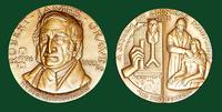 Robert James Graves bronze medal designed by Abram Belskie - Medallic Art Company [MAco 69-14-25]
