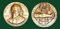 William Harvey bronze medal designed by Abram Belskie - Medallic Art Company [MAco 69-14-9]