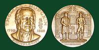 Thomas Hodgkin bronze medal designed by Abram Belskie - Medallic Art Company [MAco 69-14-26]