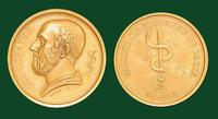 Faculté de médecine de Paris - HIΠΠΟΚΡΑΤΗΣ (Hippocrates) commemorative bronze medal by André Galle, 1809