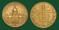 Johns Hopkins Hospital commemorative medal for the 50th anniversary of founding
