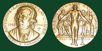 Antoine Laurent Lavoisier bronze medal designed by Abram Belskie - Medallic Art Company [MAco 69-14-17]
