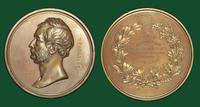 Joseph Pancoast, M.D. and Jefferson Medical College bronze medal, (W. Barber, U.S. Mint, 1870)