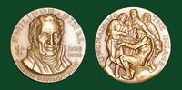 Philippe Pinel bronze medal designed by Abram Belskie - Medallic Art Company [MAco 69-14-18]
