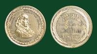 Friedrich Schiller Commemorative Medal on the anniversary of his 100th birthday, New York, 1859