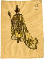 Mistick Krewe of Comus 1910 costume 13