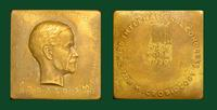 Theobald Smith commemorative bronze plaque, Third International Congress for Microbiology, New York, 1939