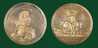 Vaccination introduction in Prussia commemorative medal with Frederick William III (1770-1840), King of Prussia, circa 1800
