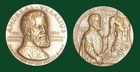 Andreas Vesalius bronze medal designed by Abram Belskie - Medallic Art Company [MAco 69-14-8]