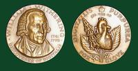 William Withering bronze medal designed by Abram Belskie - Medallic Art Company [MAco 69-14-15]