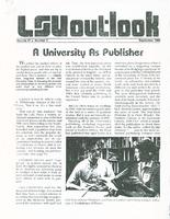 A University as Publisher