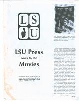 LSU Press Goes to the Movies