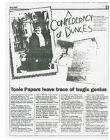 Toole Papers leave trace of tragic genius