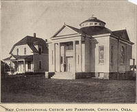 New Congregational Church and parsonage, Chickasha, Okla.