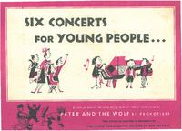 1952-1953 Junior Philharmonic Society of New Orleans booklet of concert programs