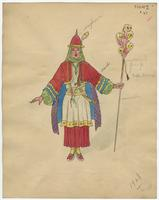 Mistick Krewe of Comus 1928 costume 47