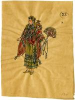 Mistick Krewe of Comus 1910 costume 33
