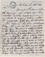 Letter from  Dwight P. Janes to Lewis Tappan