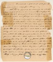 Letter from  Anonymous  to Amistad Committee