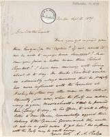 Letter from  A.A. Phelps  to Joshua Leavitt