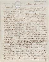Letter from  John Pickering to Lewis Tappan