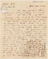 Letter from  John Pickering  to Josiah W. Gibbs
