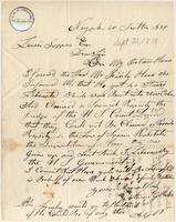 Letter from  Anson G. Phelps to Lewis Tappan