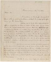 Letter from  F. Wayland  to Lewis Tappan