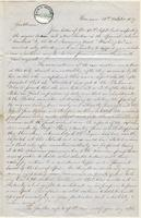 Letter from  J. Kennedy and Campbell J. Dalrymple to Seth Staples and Theodore Sedgwick