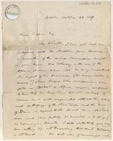 Letter from  E. Wright Jr. to Lewis Tappan