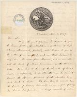 Letter from  William Lloyd Garrison to Lewis Tappan, Arthur Tappan, Joshua Leavitt, or James G. Birney