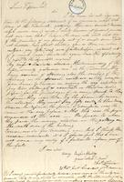 Letter from  Charles Taylor to Lewis Tappan
