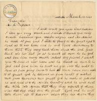 Letter from  Banna  to Lewis Tappan